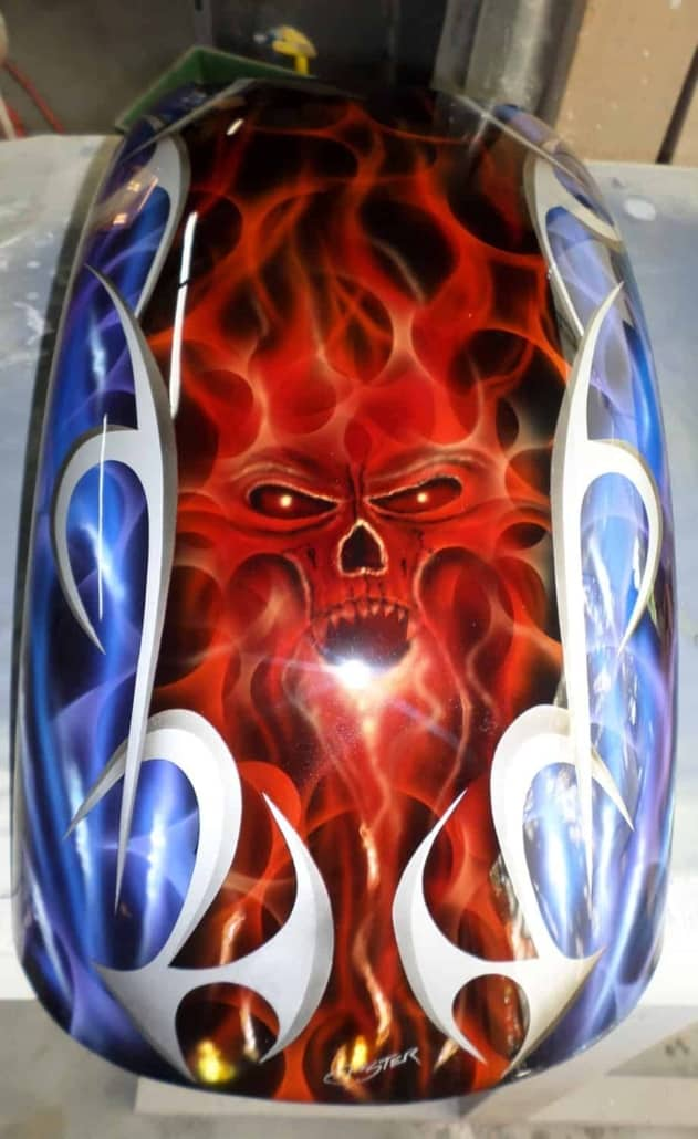 Viking Fender Flames